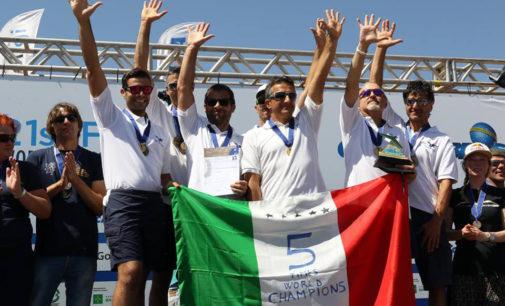 La nazionale italiana di deltaplano vince il suo nono titolo mondiale