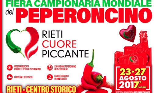 Rieti Cuore Piccante, arriva la kermesse + hot dell'estate – 23/27 agosto