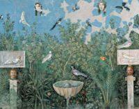 All'antiquarium di Boscoreale, la pittura della casa del bracciale d'oro
