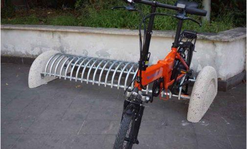 Alla Regione Lazio rastrelliere per parcheggio bici