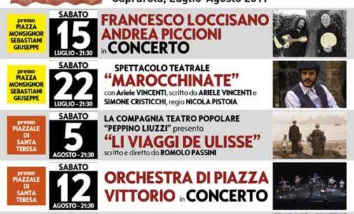 A Caprarola approda l'ottetto dell'Orchestra di Piazza Vittorio