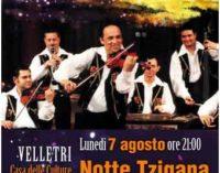 Velletri – Notte Tzigana: Antal Szalai, violino Orchestra tzigana di Budapest