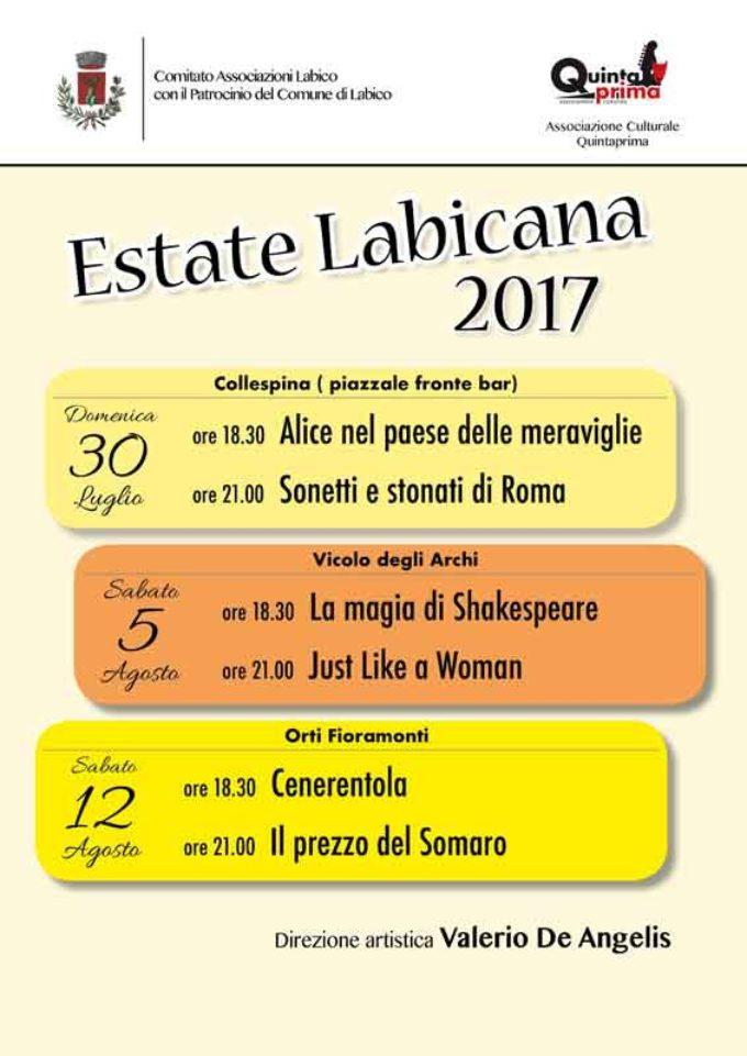 LABICO/Estate Labicana. Primo mese dal bilancio più che positivo