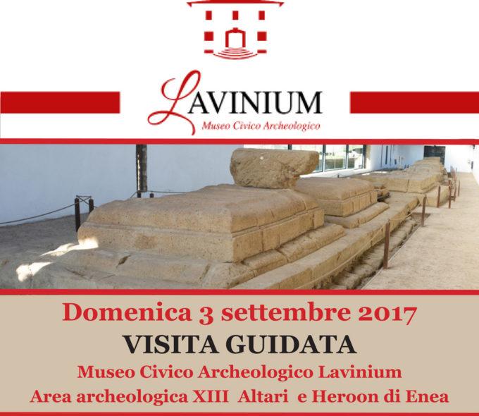 Visita guidata all'area archeologica di Lavinium