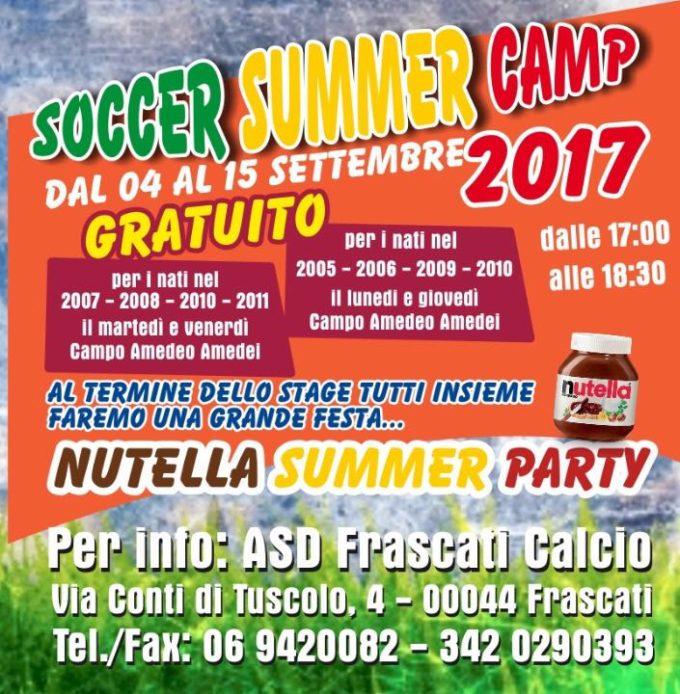Scuola Calcio, al via il Summer Camp