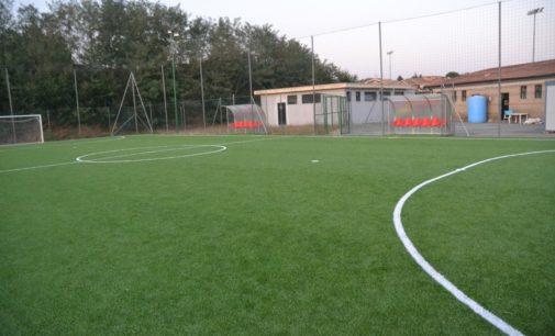 Città di Valmontone calcio, Benini: «Pronto il nuovo campo di calcio a 5 per i più piccoli»