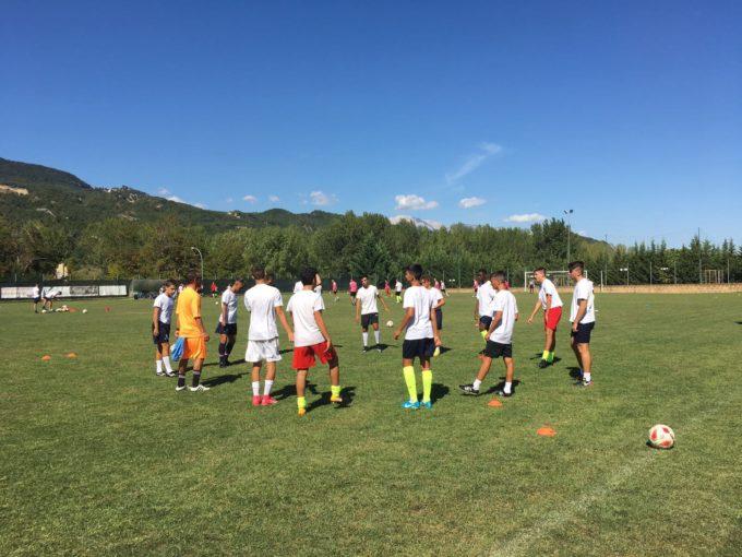 Casilina calcio, giovanili in ritiro in Abruzzo. De Giglio: «Gettiamo le basi per una bella annata»