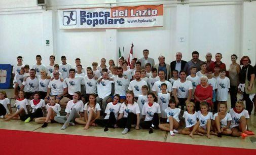 Gherardo Tecchi a Velletri per l'inaugurazione del Polo Tecnico Regionale di Ginnastica.