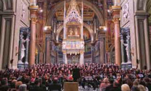 """Gran concerto del coro della Diocesi di Roma: """"Fede & Cultura"""""""