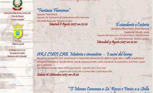 """Albano Laziale, sabato 16 settembre """"Materia e Simmetria nei suoni del borgo"""""""