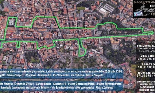 Albano Laziale, Bajocco Festival: servizio di navetta gratuita