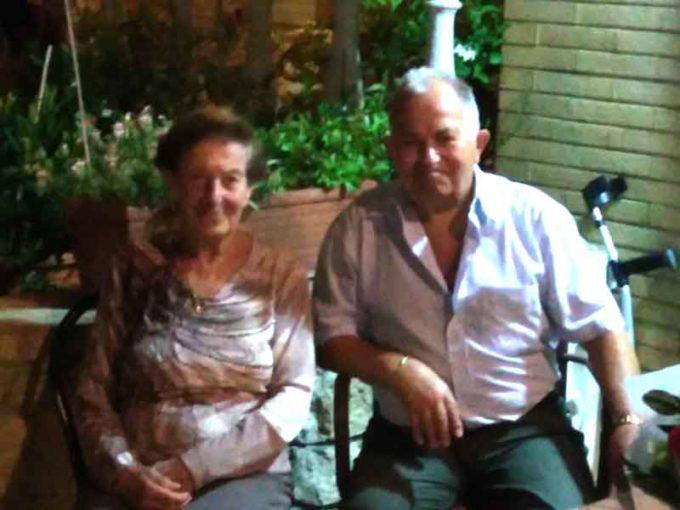 Angelo e Giuliana raggiungono il traguardo dei 60 anni di matrimonio