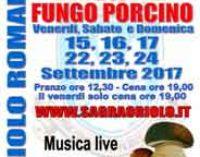 Il fungo porcino fa festa ad Oriolo Romano (VT)