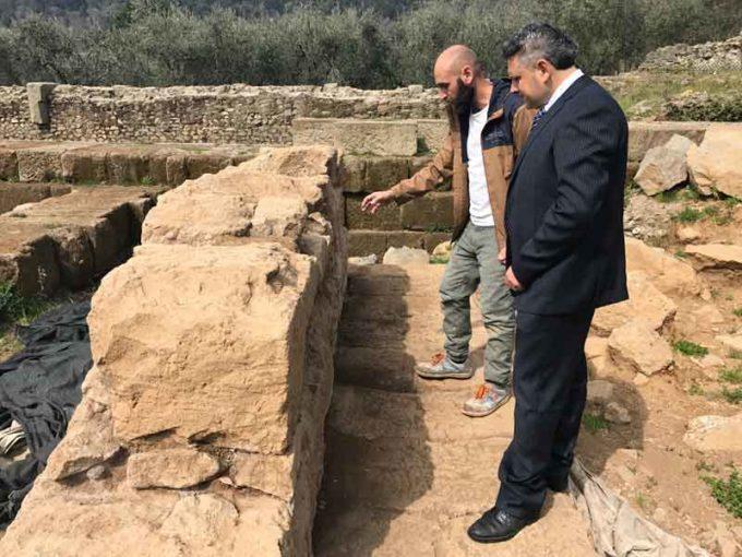 Nemi svela un restauro risalente al v secolo ac.