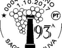 Marino: Un Annullo Filatelico per la  Sagra dell'Uva