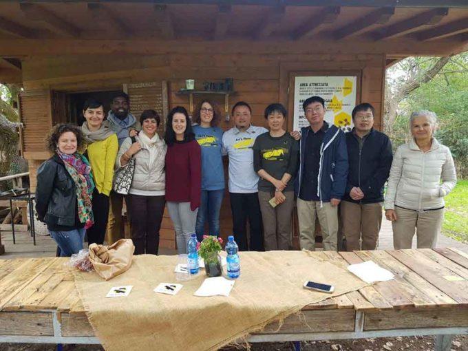 Ricercatori cinesi in visita a Tuscolo