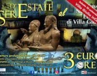 """Sere d'estate al Museo:  """"Villa Giulia inCanto"""""""