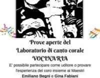 """Prove aperte per il laboratorio di canto corale """"VOCINARIA"""" ad Ariccia"""