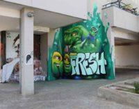 """""""Refresh the city""""  Sprite rinfresca Roma con la street art:"""