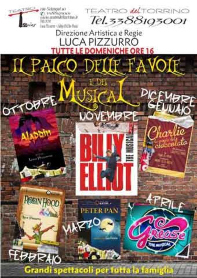 """Teatro del Torrino – """"Le fantastiche avventure di Aladdin"""""""