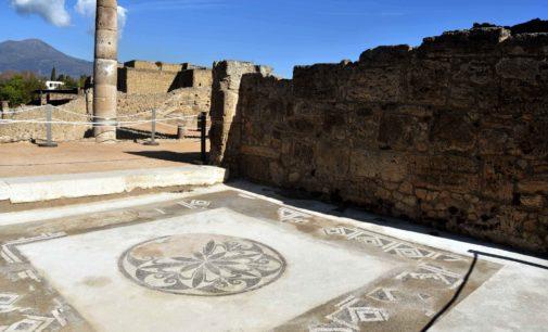 Gli esclusivi quartieri panoramici a terrazze dell'antica Pompei aprono al pubblico