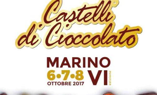 """MARINO DA' IL BENVENUTO A """"CASTELLI DI CIOCCOLATO"""""""