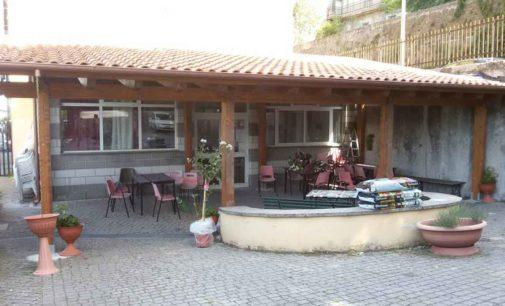 Ultimata la realizzazione del portico del Centro Anziani di Zagarolo