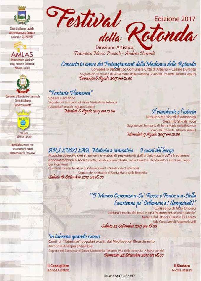 """Albano Laziale, Festival della Rotonda –  Aldo Onorati """"Il mondo comincia a San Rocco e finisce alla Stella"""""""