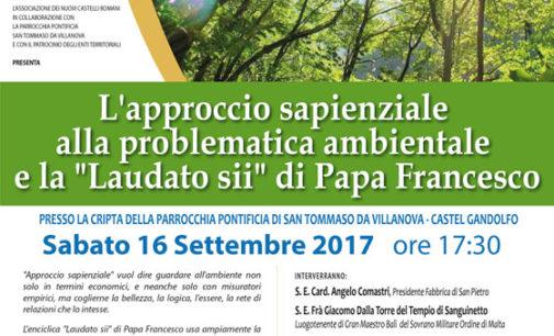 """Convegno su """"Laudato sii"""" di Papa Francesco"""