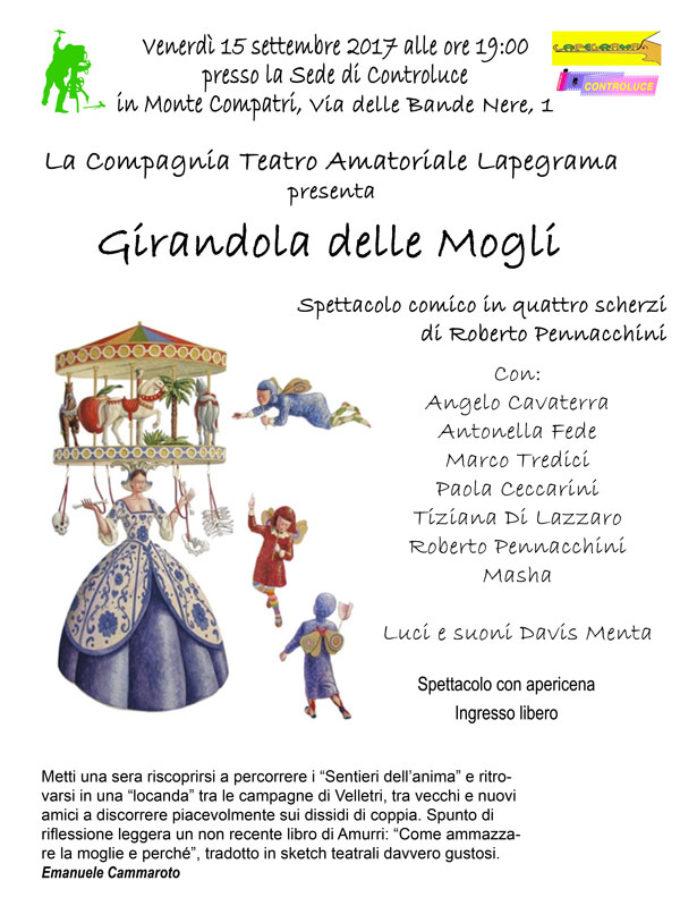 """Monte Compatri – """"Girandola delle mogli"""""""