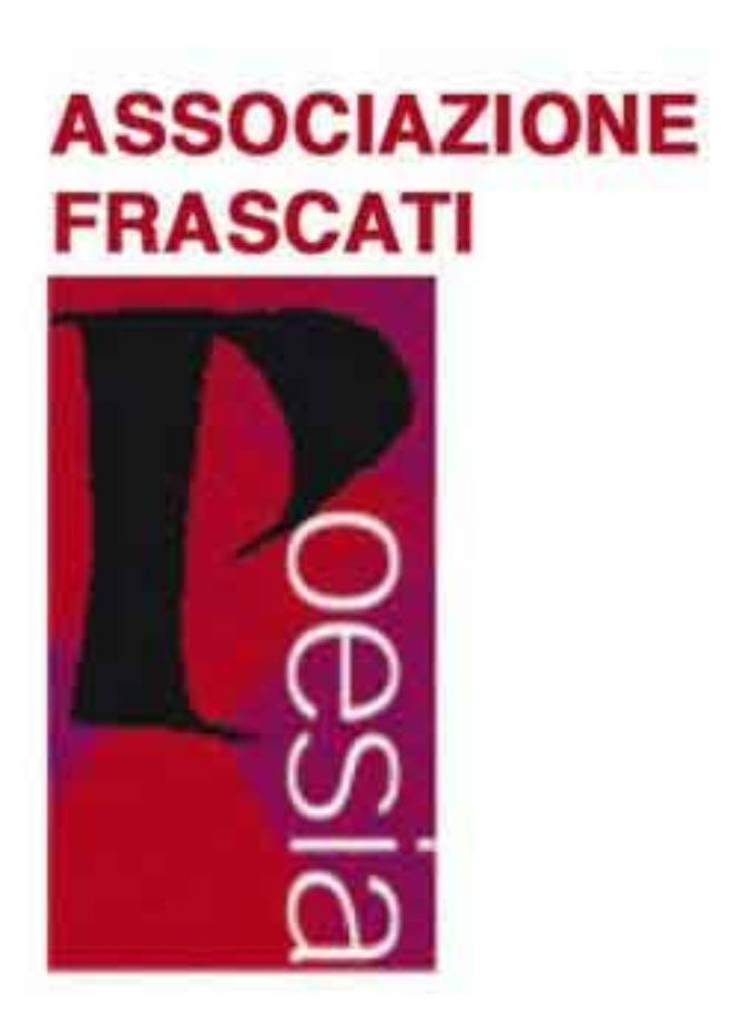 """I finalisti della 57 ma edizione del """"Premio Nazionale Frascati Poesia Antonio Seccareccia"""