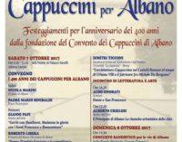I 400 anni dei Cappuccini per Albano