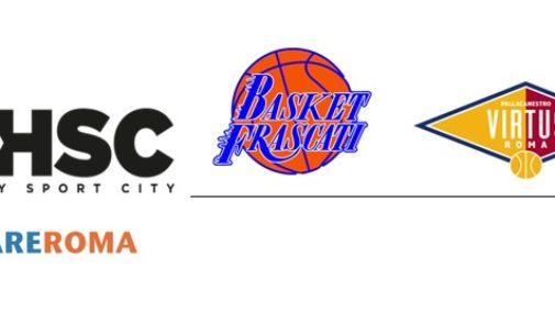 Honey Sport City Roma e Club Basket Frascati insieme, nel segno della Virtus Roma Pallacanestro