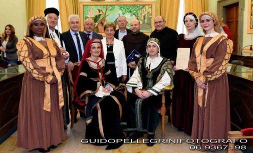 Marino ha rinnovato la fraterna amicizia con Assisi e Cortona