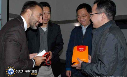 Delegazione cinese in visita a Marino