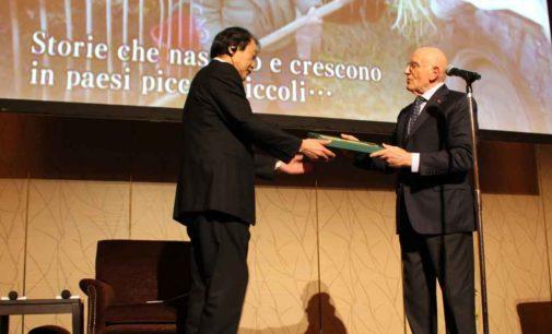 """Il """"Premio Umberto Agnelli per il giornalismo"""" 2017 a Takayuki Terashima"""