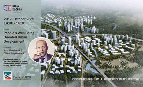 "Massimo Roj al ""People's Well-Being Oriented Urban Development"""