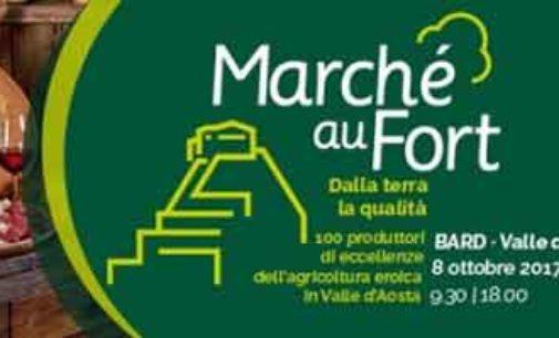 """Le eccellenze dell'agricoltura """"EROICA"""" della Valle d'Aosta al Marché au fort 2017"""