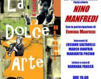 Erminia Manfredi a Marino La Citta' rende omaggio all'arte e alla filmografia di  Nino Manfredi