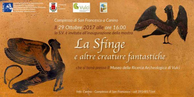 """""""LA SFINGE E ALTRE CREATURE FANTASTICHE"""""""