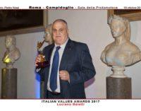 Luciano Baietti premiato in Campidoglio