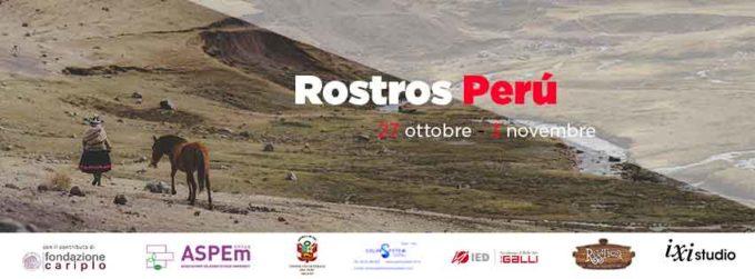 Rostros Perú Un progetto per l'integrazione e per la conoscenza e …