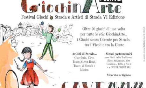 Cave – GiochinArte Festival dei Giochi di Strada (de 'na vota) & Artisti in Strada