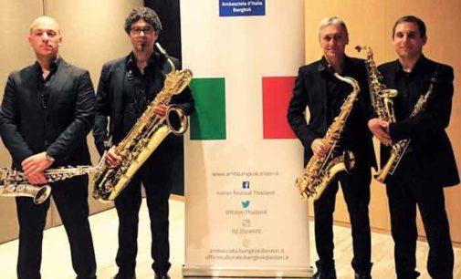 Gli Apeiron Sax Quartet a Bangkok
