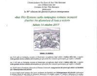 36° Premio di Pittura Estemporanea – San Vito Romano nella campagna romana