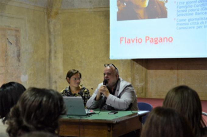 Lo scrittore Flavio Pagano incontra gli studenti del liceo di Zagarolo