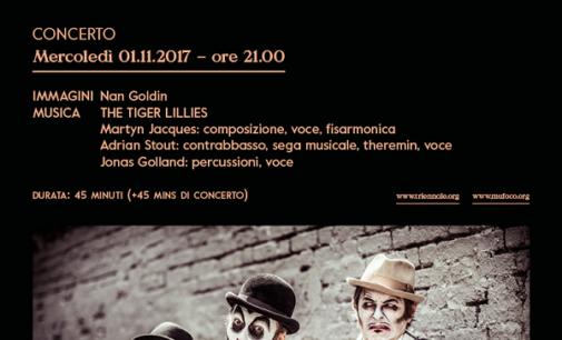 The Tiger Lillies in concerto Nuova voce a The Ballad of Sexual Dependency di Nan Goldin Mercoledì 1 novembre, ore 21.00 – Triennale Teatro dell'Arte di Milano