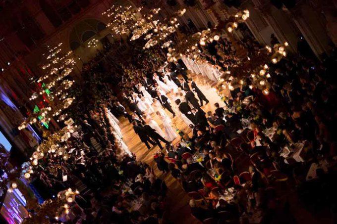 Valzer viennese e bollicine italiane danzano insieme
