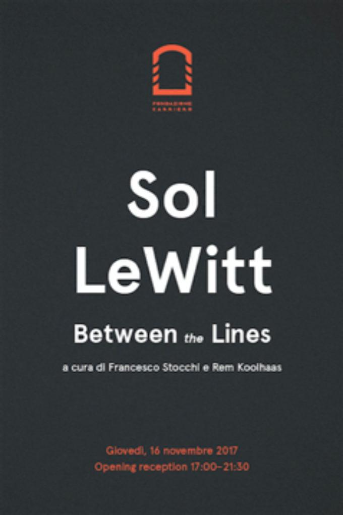 Fondazione Carriero – Sol LeWitt Between the Lines