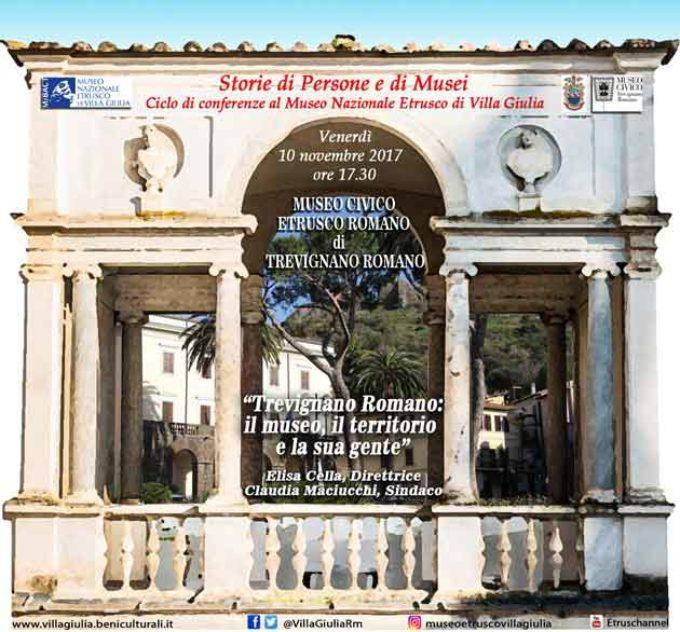 Storie di Persone e di Musei. Trevignano Romano, il museo, il territorio e la sua gente